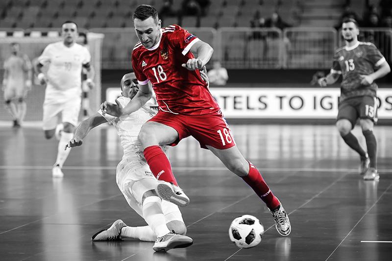 Futsal Match Russia vs Poland