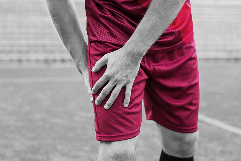 Player With Hip Injury