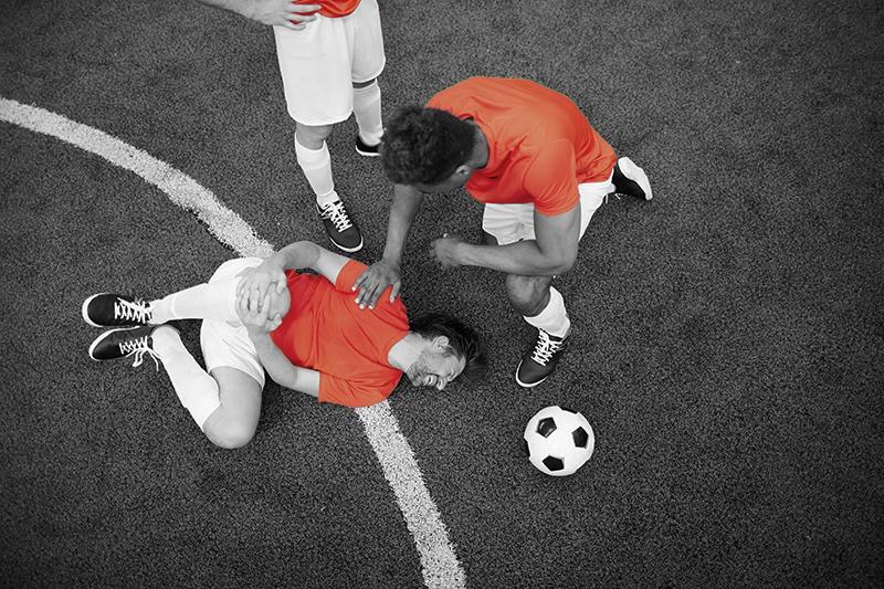 Player Down Injured injury prevention program