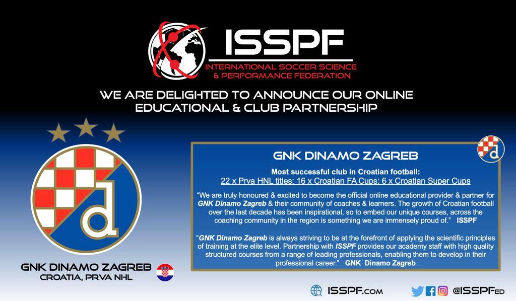 Dinamo Zagreb ISSPF partnership