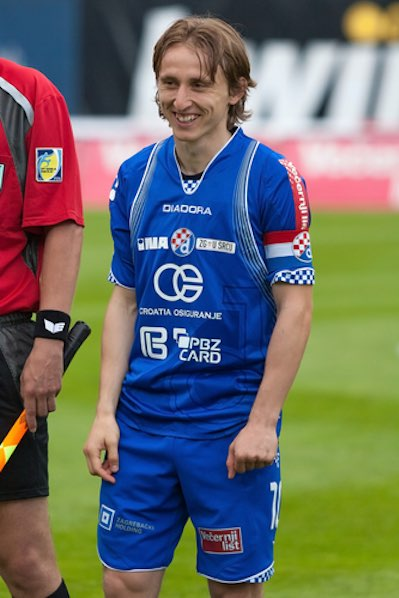 Luka Modric Dinamo Zagreb
